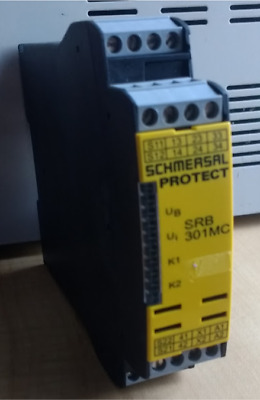 Schmersal 24 V ac/dc Safety Relay Single or Dual Channel