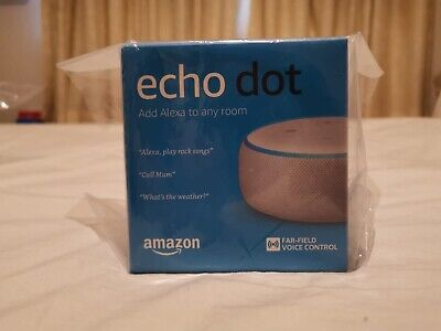 Amazon Echo Dot (3rd Generation) - Smart Speaker with Alexa. Brand New Sealed