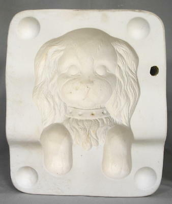 "PUPPY DOG WINDOW SILL SHELF SITTER (7"") Holland Ceramic Mold"