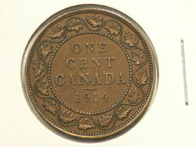 1914 Canada Large Cent George V #3471