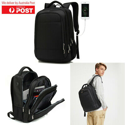Waterproof Laptop Backpack Anti-Theft Travel Business School Bag With USB Port