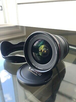 Canon EF 17-40 mm f/4 L USM Lens and Lens Hood - Great Condition ++