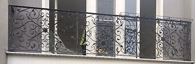 Antique wrought iron handrail