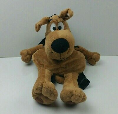 Scooby Doo Plush Backpack Movie World Brown Dog