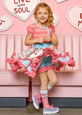 NWT Girls MATILDA JANE Lets go together  Take A Spin Dress Size 6