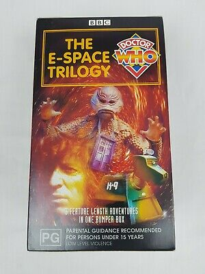 BBC - Doctor Who - The E-Space Trilogy - 3 VHS Box Set