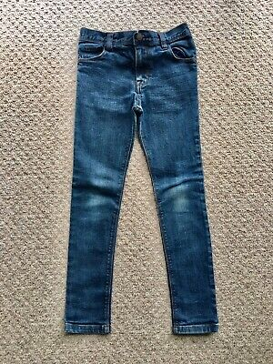 *NEXT* Boys Blue Super Skinny Adjustable Jeans Age 9 Years