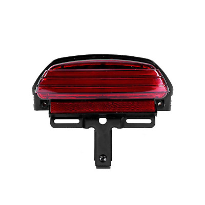Red Tri Bar Fender LED Tail Light Bracket Harley Softail CVO Springer FXST FXSTC