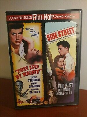Film Noir Double Feature They Live By Night Side Street Dvd