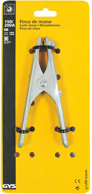 GYS Earth Clamp 150/200 A n Blster Pack 043107