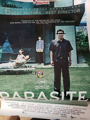 Parasite 27x40 Theatrical DS One Sheet Poster 2020 Oscars Best Picture
