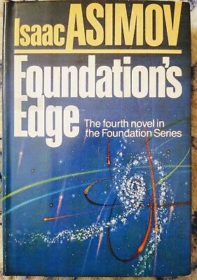 Foundation's Edge by Isaac Asimov (1982, Hardcover) First Edition (VG)
