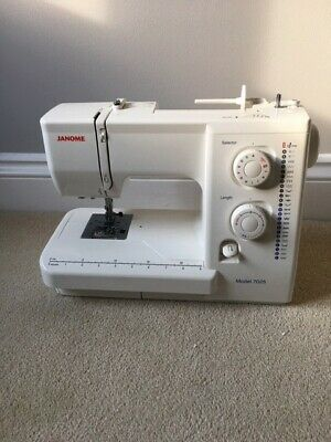 Janome Sewing Machine Model 7025 with case. Nearly new.