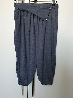 Primark Girls Blue Harem Trousers Age 10-11 Years
