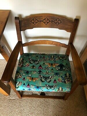 Petite Vintage Arts & Crafts Style Chair