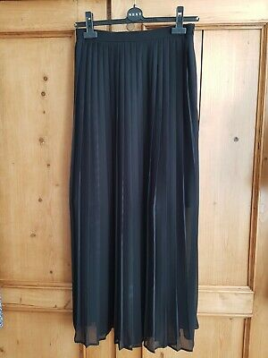 Brand new with tags, Next long, black, pleated skirt, Size 6/EU 34