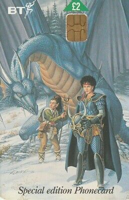 REINO UNIDO, CINE. Dragons Of Summer Flame 4 - Dragons Of Winter Night. BCC-013.
