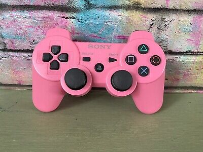 Genuine Official Sony Playstation 3 PS3 Wireless Controller Pink Sixaxis (1)