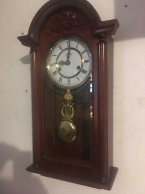 Vintage D&A Wind up Pendulum Chime Wall Clock