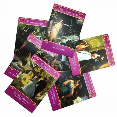 44pcs Romance Angel Oracle Cards Tarot Cards Game Card Set Gift English Read