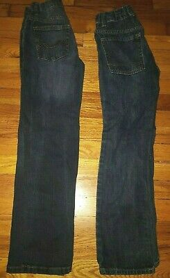 2 pairs boys jeans size 10 Regular; Old Navy Skinny, Urban Star