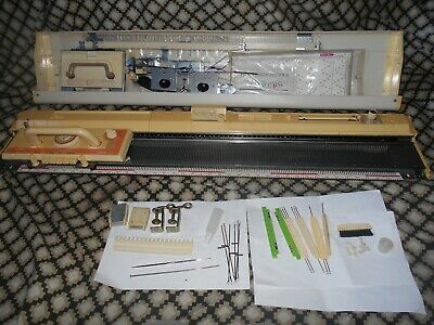 Brother KH 840 Punchcard Knitting Machine - Complete With Accessories