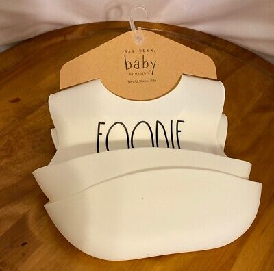 Silicone Bibs (2 Pack) By Rae Dunn