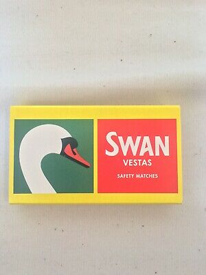 8 Boxes Of Swan Vestas Safety Matches - Free Postage