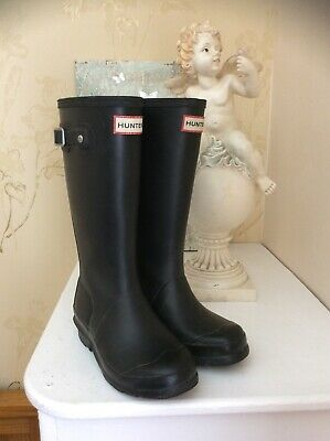 Hunter Black Wellies Size 13