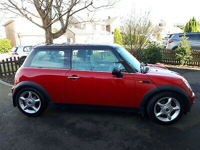 MINI HATCH COOPER 1.6 COOPER 3dr - 2001 pan roof, leather interior