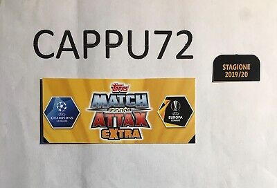 Topps Match Attax Extra -Captain-Rising Stars-Champions League- 2019/20