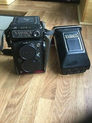 YASHICA MAT 124-G 6x6 TLR 1:3.5 f=80mm YASHINON LENS FILM CAMERA UK*