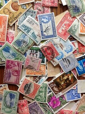 collection of british empire,colonies and commonwealth stamps