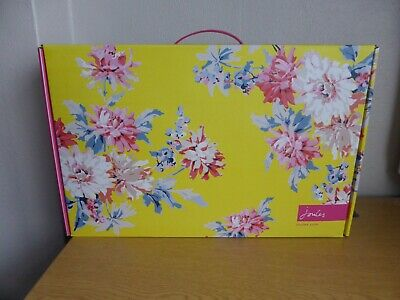 Large Joules Welly Boot Gift Presentation Flower Box  with Handle EMPTY