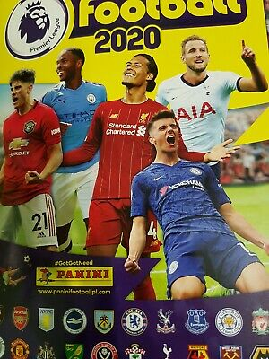 Panini's Football 2020 Premier League Sticker Collection 25 Stickers