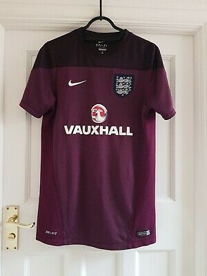 England Vauxhall Nike Training Football Shirt Size Medium