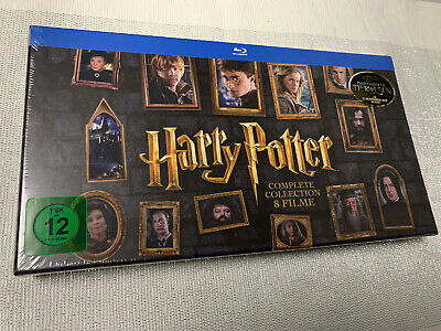 Harry Potter Complete Collection 8Filme Bluray Neu OVP