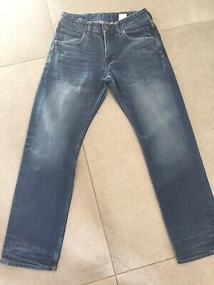 Boys Denim Jeans H & M Age 11-12 Years Good Condition