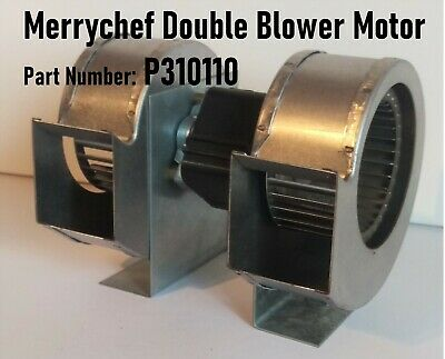 Merrychef Ec501 Rd501 Cd2 Double Blower Motor Assembly Fan Part Number: P310110