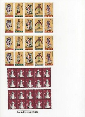 35-Cent Postage Stamp Combos - Enough to Mail 40 Postcards - Face Value $14.00