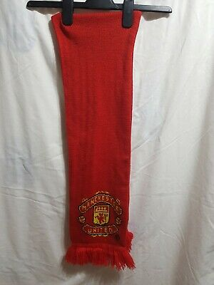 Official Retro Man U Manchester United Football Scarf Football Merchandise