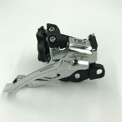 Shimano Deore XT FD-M785-E2 2x10-spd Front Derailleur Top-Swing Dual-Pull E-Type