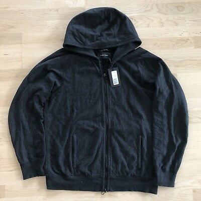 wings+horns Hoody (Sweatjacke) Double Knit Lounge Gr. L (WI-3157-CHA)