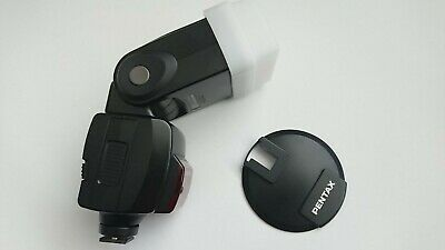 Pentax Flash AF-540FGZ with stand and diffuser.