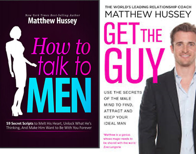 Matthew Hussey -  How to Talk to Men & Get the Guy Buy 1 get 1 free! FAST PDF