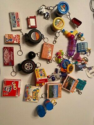 Lot of Vintage Classic Board Game Keychains 90s/2000s