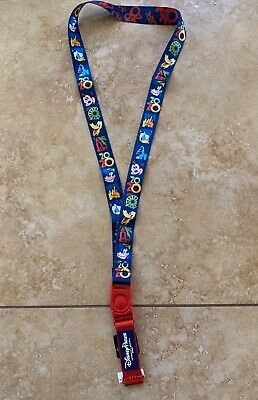 Disney Parks 2020 Mickey Mouse&Friends Lanyard - New With Tags