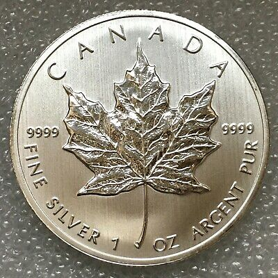 2013 Canada 1 oz Silver Maple Leaf .9999 Five Dollar Coin, free combined S/H