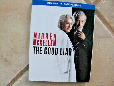 THE GOOD LIAR  HELEN MIRRAN  IAN McKELLEN BLU-RAY & DIGITAL