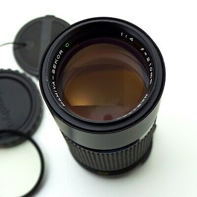 Mamiya Sekor C 210mm f/4 Lens for 645 1000s Pro- Near Mint W/Caps And Filter